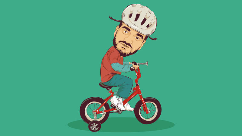 Illustration for article titled An Adult's Guide To Learning To Ride A Bicycle