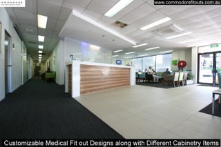 Illustration for article titled Customizable Medical Fit out Designs along with Different Cabinetry Items