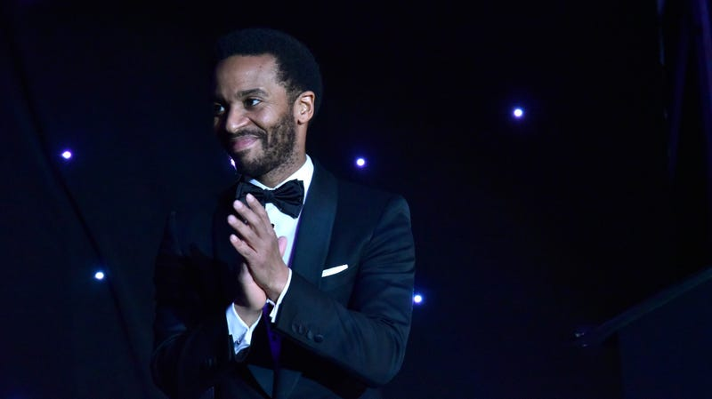 Andre Holland speaks onstage during the Jackie Robinson Foundation 2019 Annual Awards Dinner on March 4, 2019 in New York City.