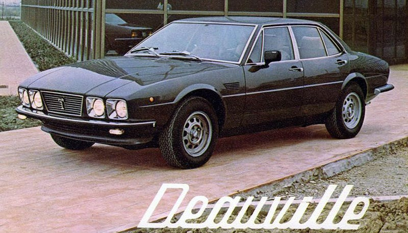 The Forgotten De Tomaso Sedan