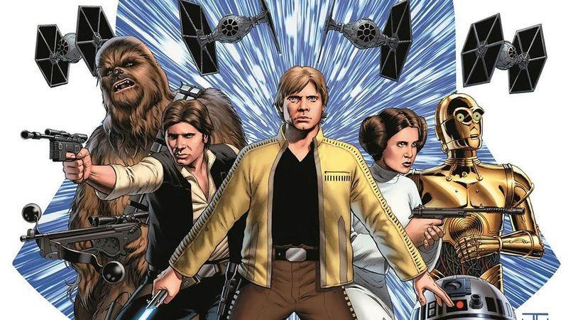 Star Wars teaser art by John Cassaday (Marvel)