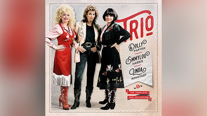 Illustration for article titled 20 'Lost' Tracks From Dolly, Linda, and Emmylou To Be Released Later This Year