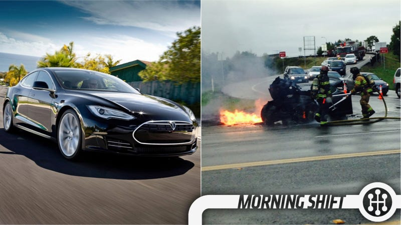 Illustration for article titled Feds To Investigate Tesla Model S Fires, Acura Knows Its Cars Suck