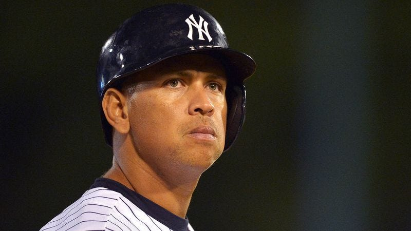 Illustration for article titled Yankees Rookie Nervously Tells A-Rod How Much He Used To Hate Him As A Kid