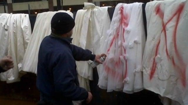 Destroyed Wedding Dress