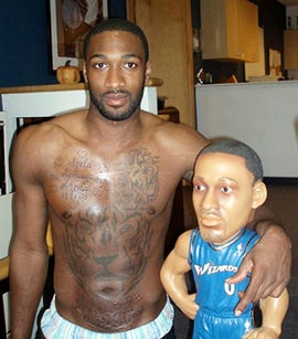 Illustration for article titled Gilbert Arenas Gets More Entertaining Every Day