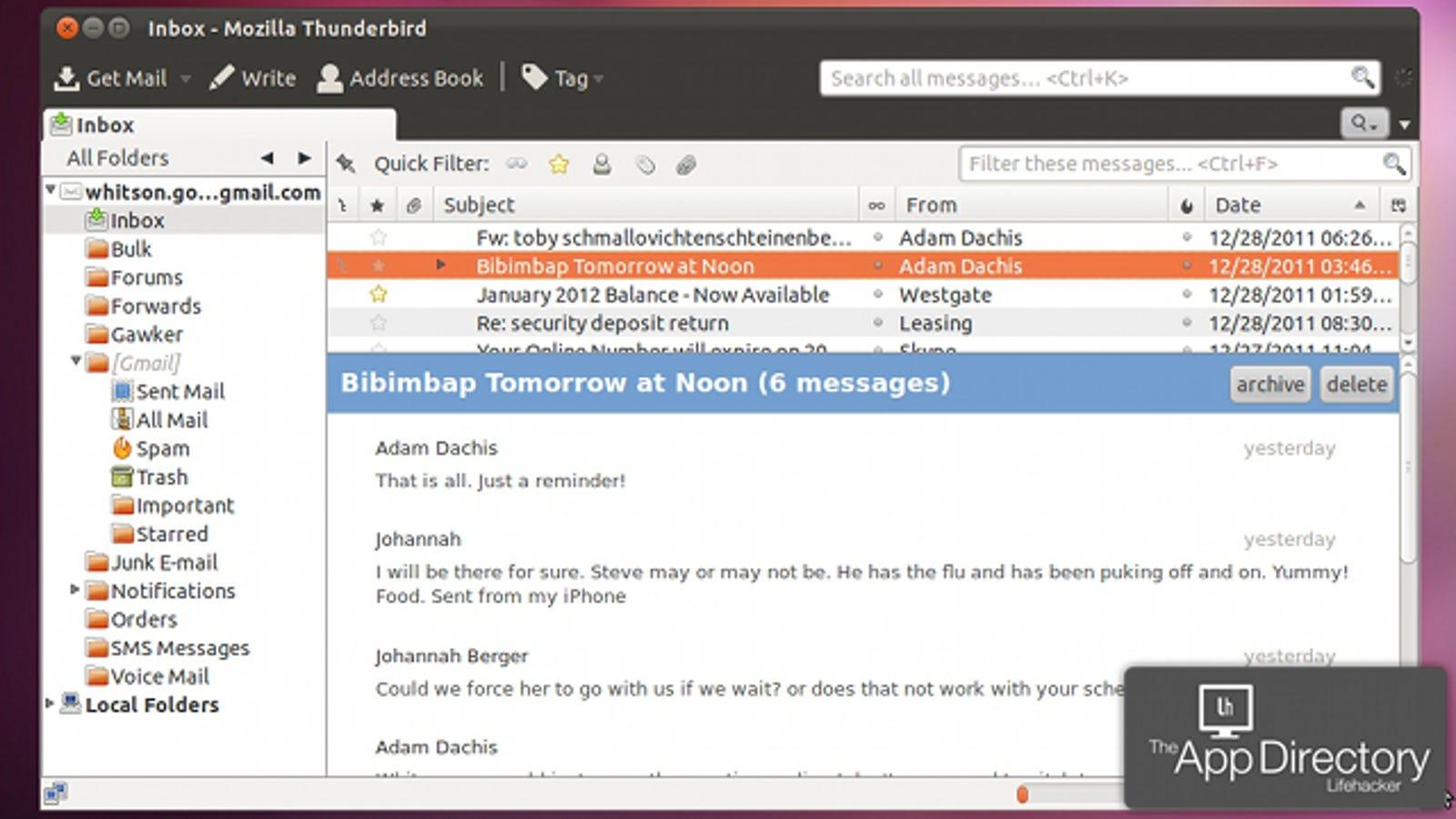Bestes E-Mail Programm