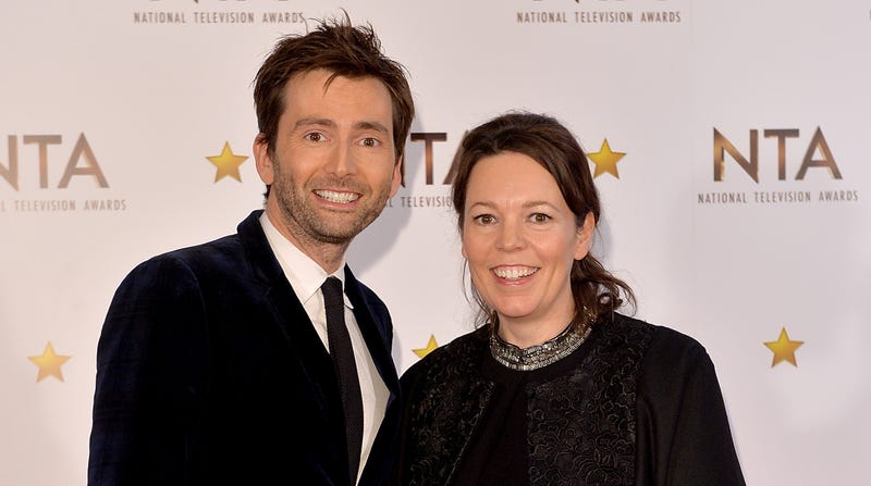 Illustration for article titled David Tennant has a podcast, and his first guest is Olivia Colman