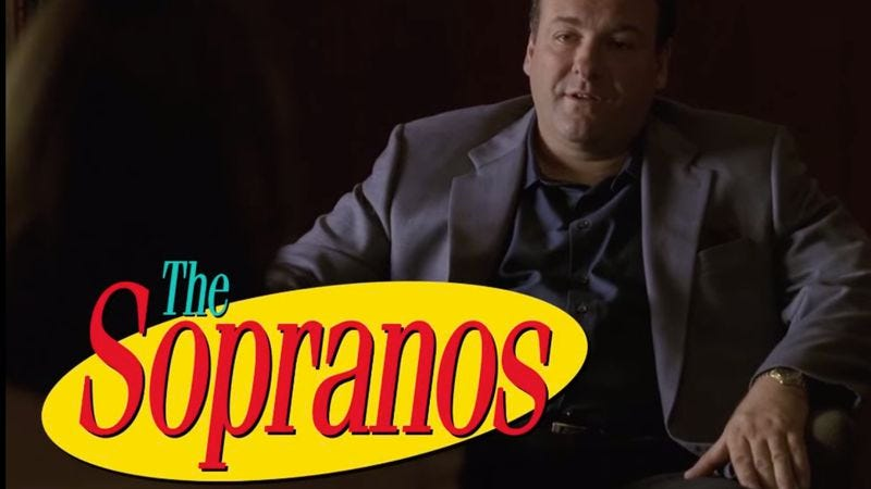 Illustration for article titled The Sopranos as a sitcom is no laughing matter