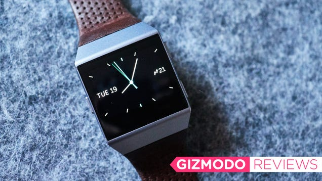 I Hate Almost Everything About Fitbit s New Watch—But There Is One Thing I Love