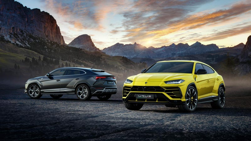 Illustration for article titled Shocking Revelation, Lamborghini Says Sales Of Its New SUV Are 'Terrific'