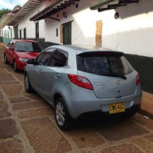 BlueMazda2 - Blesses the rains down in Africa, Purveyor of BMW Individual Arctic Metallic, Merci Twingo