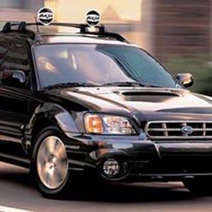 Suuuuubaru* ( *drives a Chevy & Acura)