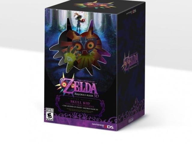 La légende de Zelda: Masque de Majora 3DS édition limitée US