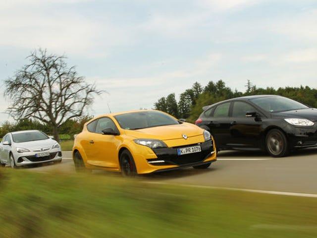 Los coches de tracción delantera más rápidos