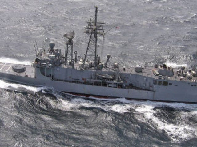 End Of The 'Ghetto Navy' Is In Sight As Last USN Frigate Cruise Begins