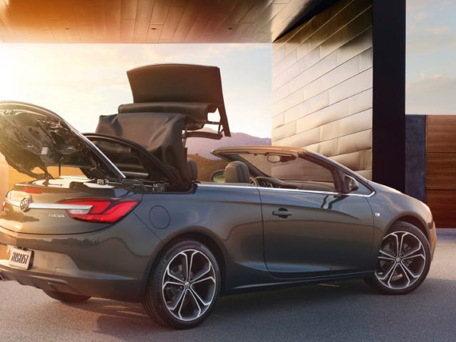 2016 Buick Cascada: It Is It