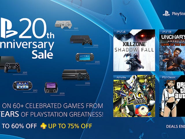 TAY Deal Blip : PlayStation Anniversary Sale!