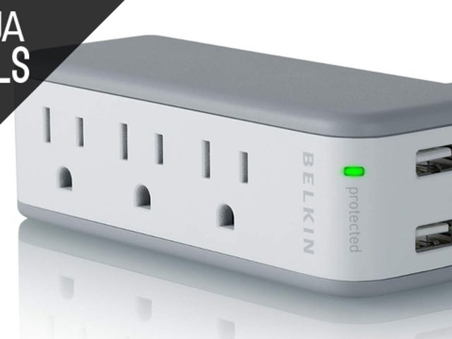 Iconic Travel Surge Protector, Cheap External Storage, and More Deals