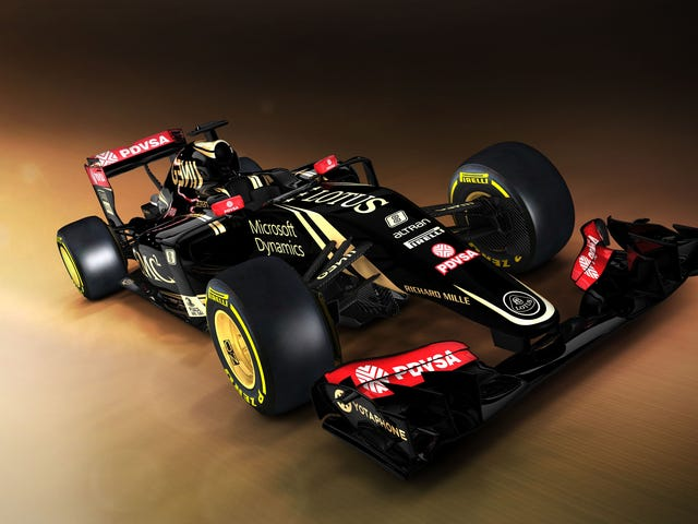 Lotus F1 is Best F1