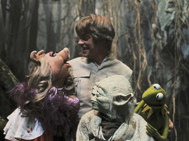 The Muppets Visited The Empire Strikes Back Set, And It Was Wonderful