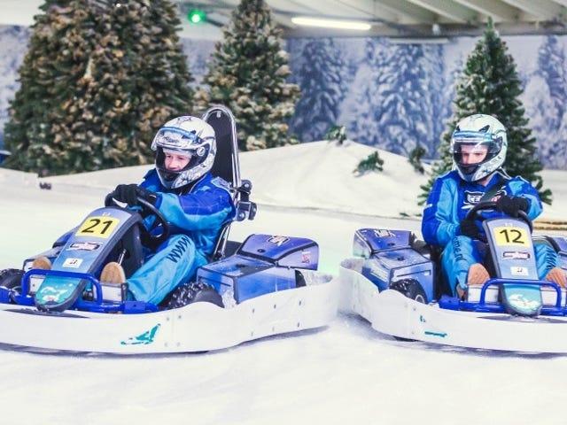 Ice Karting은 진짜입니다. 그리고 지금 당장하고 싶습니다.