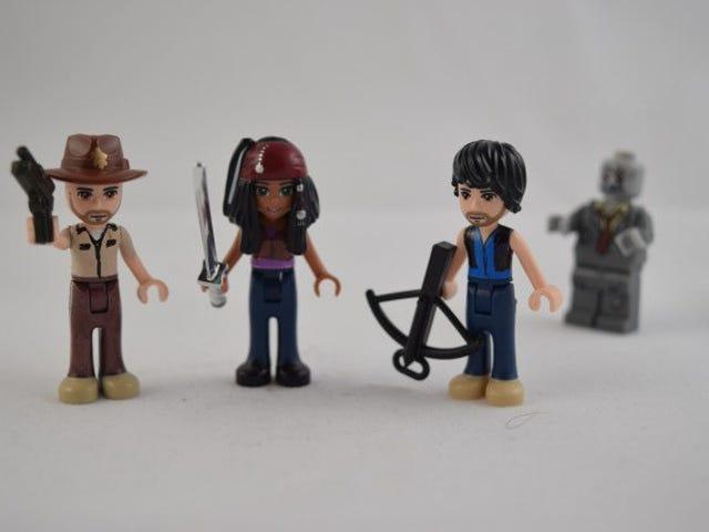 Ang 'Mga Kaibigan' na Mga Manika ng Lego ay Makabukas sa Pop Culture Heroes