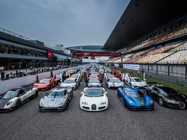 Si todas las marcas de automóviles hicieran un superdeportivo