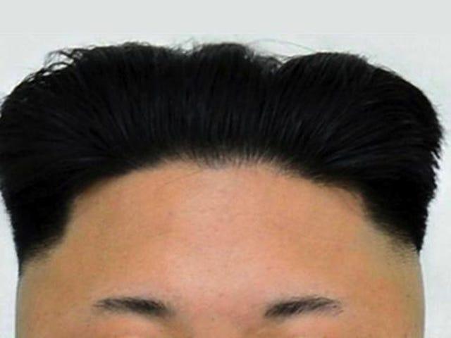Simple Math: Kim Jong-un's Hair + Ron Swanson = Obviously
