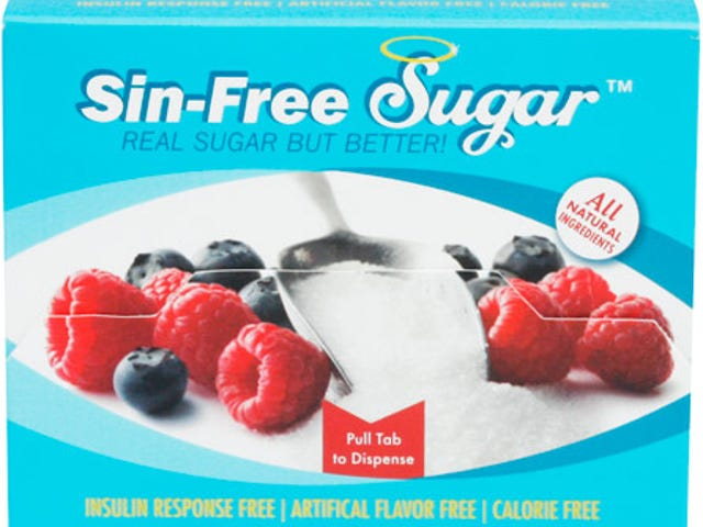 There is such a thing as SIN FREE SUGAR