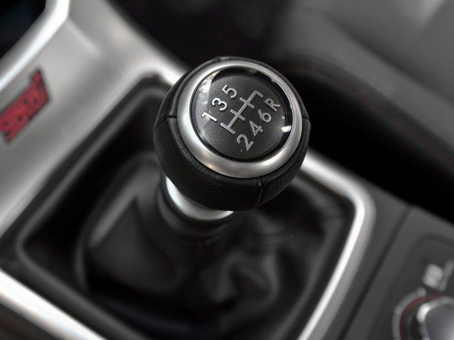 Cada transmisión manual disponible hoy