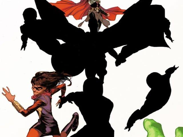 Punan Sa Blangkong: Lahat ng Bago Lahat Iba't ibang Avengers (na-update)
