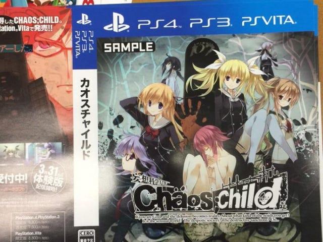 Le chaos;  Child Heading vers le système PlayStation et Anime