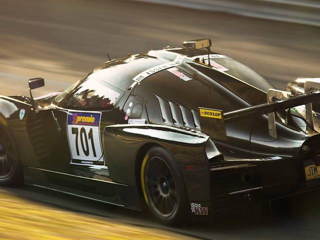 El SCG 003 fue demasiado fuerte para competir en Nürburgring