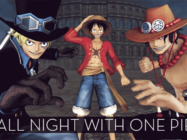 The Up All Night Stream Plays One Piece Pirate Warriors 3 [Stream Over]