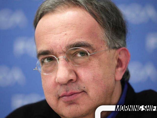 Laporan: Marchionne FCA Mahu Membuat Kesepakatan Besar Sebelum 2020
