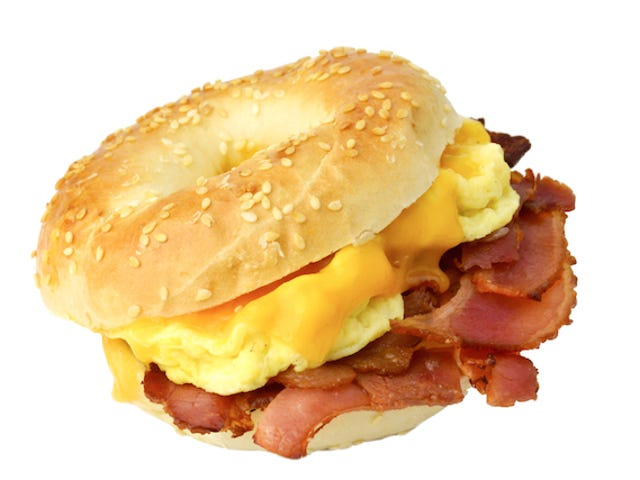 Which Is Better: Fancy Bacon Egg & Cheese or Regs Bacon Egg & Cheese?