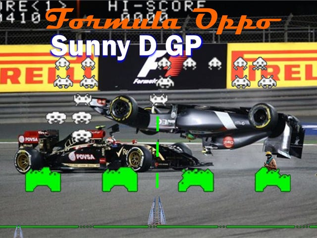 Formula Oppo: The Sunny D Grand Prix of Nope, Nothing Wrong Here