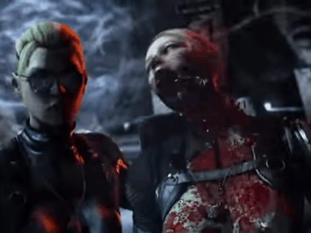 <i>Mortal Kombat X</i> har en selfie-dødsfald