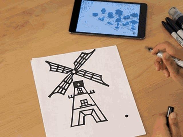 Hidupkan Lukisan Anda Ke Model 3D yang Boleh Dicetak Dengan Apl iPad MakerBot