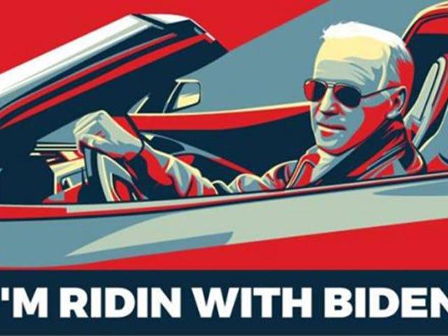 Het maakt me echt niet uit of VP Joe Biden voor het hoogste kantoor in het land werkt, maar ik heb een van de