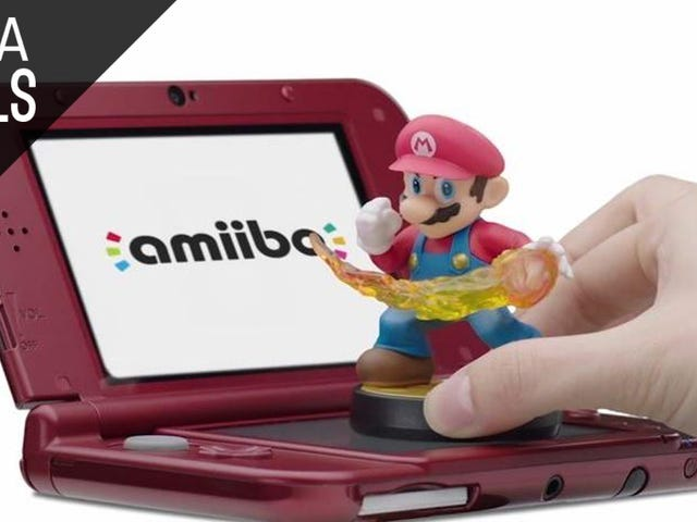 Walmart's New 3DS XL Bundle Comes with a Game and an Amiibo