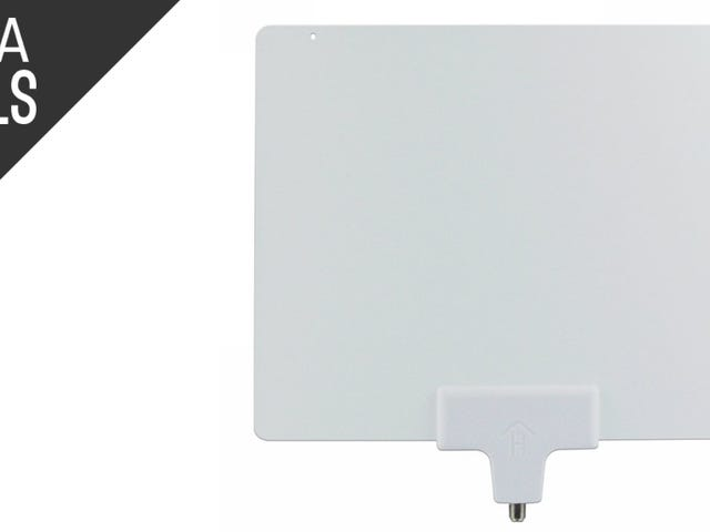 Cut the Cord with This $15 HDTV Antenna