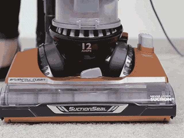 Eureka's New Vac Automatically Cleans Disgusting Hair From Its Brushroll