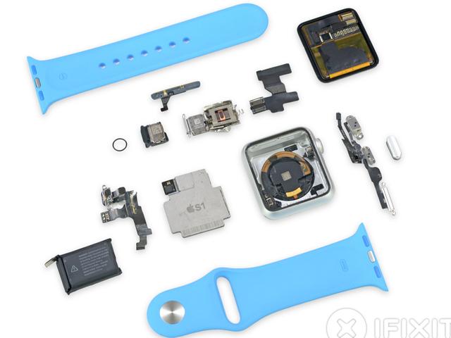 Así es el Apple Watch por dentro, destripado pieza a pieza