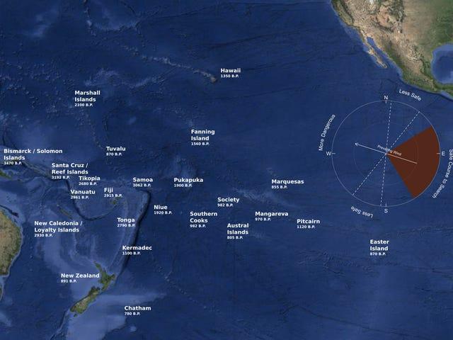 태평양 제도가 식민지화되었을 수있는 새로운 시뮬레이션 쇼