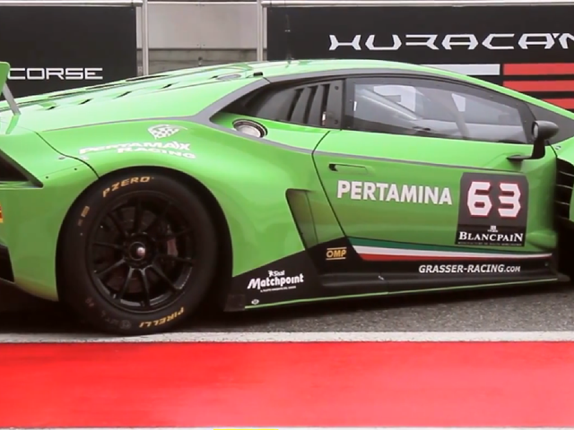 El nuevo Lamborghini Huracán GT3 exige que vayas más rápido
