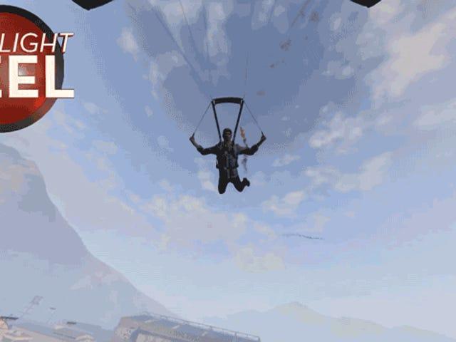 <i>GTA</i> Parachuter Menghindar dari Rudal Dengan Rahmat