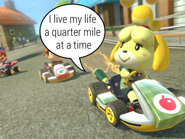 Mario Kart 8's λειτουργία 200CC Mario Kart 8's αλλάζει τα πάντα