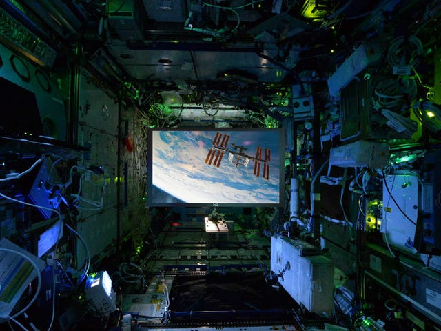Ο Διαστημικός Σταθμός έχει τώρα μια Οθόνη Προβολής από το Star Trek